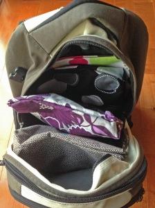 filled bag