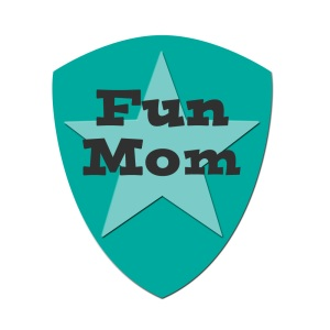 fun mom badge