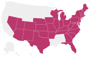 States I've Visited June 2015 Update copy